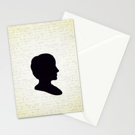 Ada Lovelace Silhouette  Stationery Cards