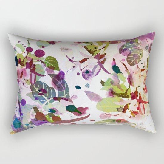 multicolore abstract fuchsia Rectangular Pillow