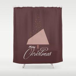 Plum Xmas #society6 #plum #xmas Shower Curtain