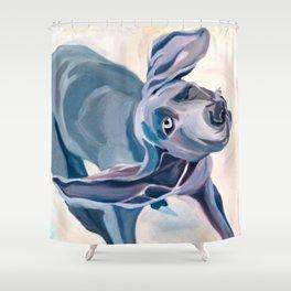Great Dane Dog Shake Shower Curtain