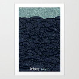 La Mer - Debussy Art Print