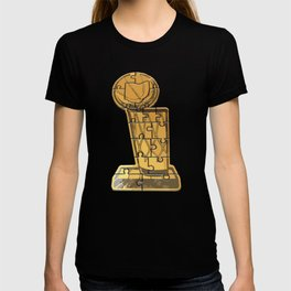 Cleveland Basketball Puzzle T-shirt
