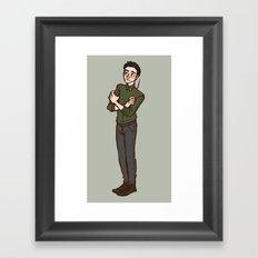 albus Framed Art Print