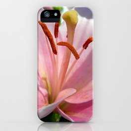 lily detail iPhone Case