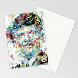 BERNARD MONTGOMERY - watercolor portrait Stationery Cards