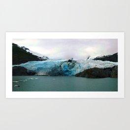 Glaciers of Alaska Art Print