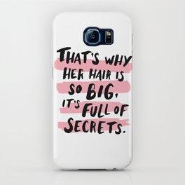 It's Full Of Secrets iPhone Case