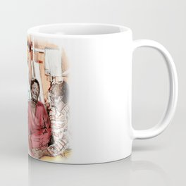 GOOD TIMES (pen sketch tribute to a classic sitcom) Coffee Mug