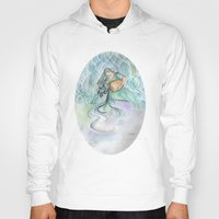 aquarius Hoodies featuring Aquarius by Aline Souza de Souza