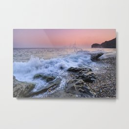 La Joya beach. Metal Print
