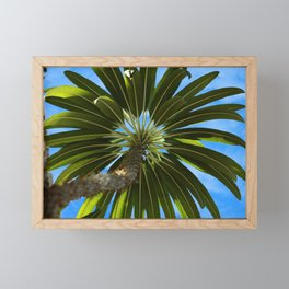 Under the Palm Tree Framed Mini Art Print