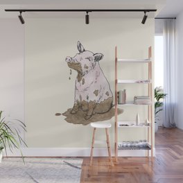 Filthy Pig Wall Mural
