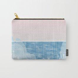 Pastel Sea Landscape Design Carry-All Pouch