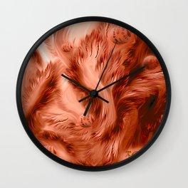 My Magic Forest - Fantasy Art By Giada Rossi Wall Clock