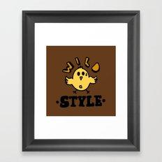 wild style Framed Art Print