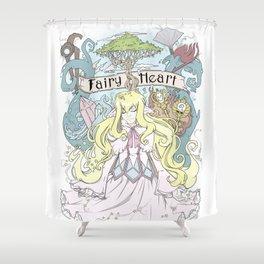 Mavis - The Fairy Heart Shower Curtain