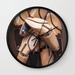 Shoe Trees Wall Clock