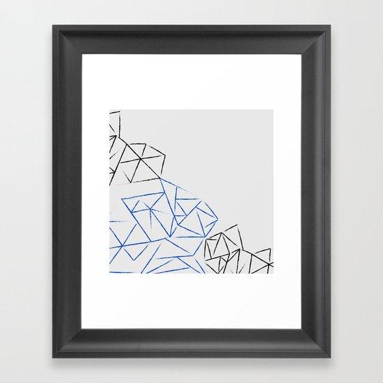 Astoria Grey Framed Art Print