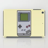 gameboy iPad Cases featuring #44 Nintendo Gameboy by Brownjames Prints