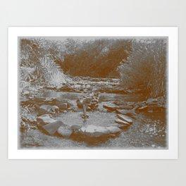Cascade of Epiphany Art Print