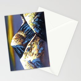 Panoramic Night View Of Everest Mountain Stationery Cards