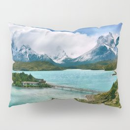 Magestic Landscape #photography #society6 #ocean#mountians Pillow Sham