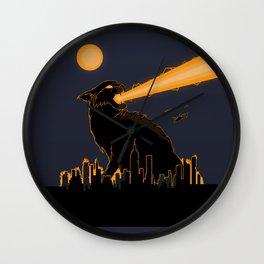 Cat-astrophe Wall Clock