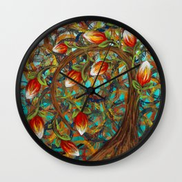 The Blooming Tree Wall Clock