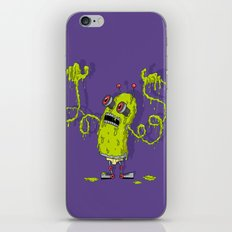 Snot Bot iPhone & iPod Skin