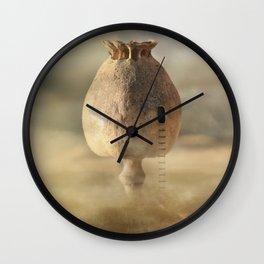 Poppy House Wall Clock