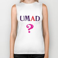 mad Biker Tanks featuring mad? by snorkdesign
