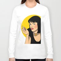 sexy Long Sleeve T-shirts featuring sexy  by mark ashkenazi