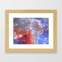 Star Factory Framed Art Print