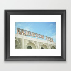 Brighton Lights Framed Art Print