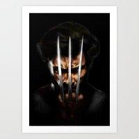 x men Art Prints featuring x men by Fila Venom Art