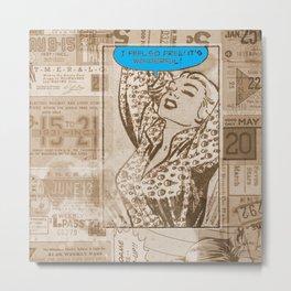 Modern Day Woman Metal Print