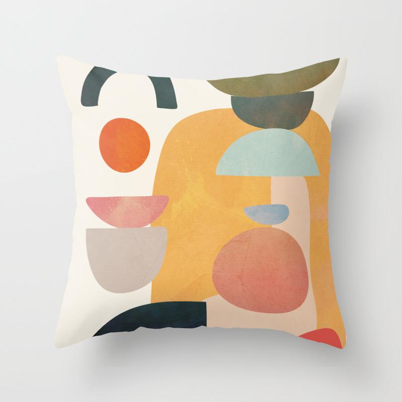 Modern Abstract Art 70 Throw Pillow By Cityart7 Society6