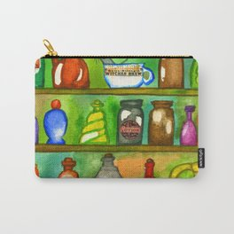 Potion Bottles On The Shelf Carry-All Pouch