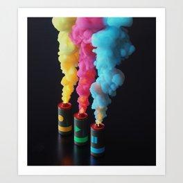 Fuse Art Print