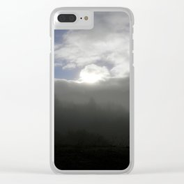 Grasping the Sunlight... Clear iPhone Case