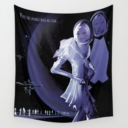 NASA Retro Space Travel Poster #10 PSO J318.5-22 Wall Tapestry