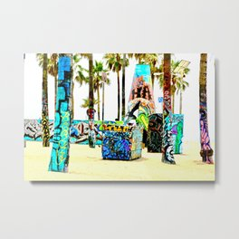 Venice Beach Dream Metal Print