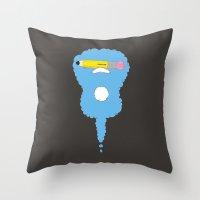 led zeppelin Throw Pillows featuring Lead Zeppelin by eyejacker