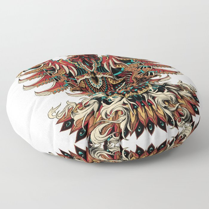 Heraldric Phoenix Floor Pillow