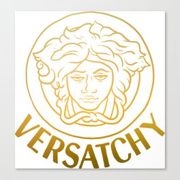 Versatchy - gold Canvas Print