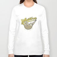 whatever Long Sleeve T-shirts featuring Whatever by Mathiole