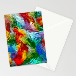 Magic Carpet Ride Abstract Stationery Cards