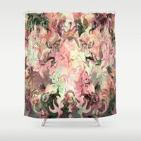 angels Shower Curtains featuring Angels and.... by Cherie DeBevoise