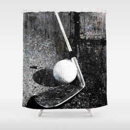 The golf club Shower Curtain