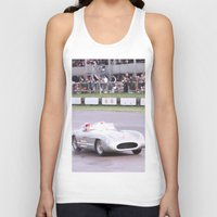 mercedes Tank Tops featuring Mercedes Benz Silberpfeil with Stirling Moss by Premium